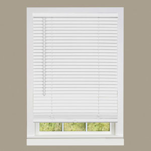 Cordless GII Deluxe Sundown Pearl White 64 x 36-Inch Mini Blind