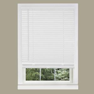 Cordless GII Morningstar Pearl White 64 x 27-Inch Mini Blind
