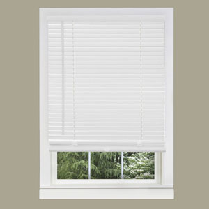 Cordless GII Morningstar Pearl White 64 x 35-Inch Mini Blind