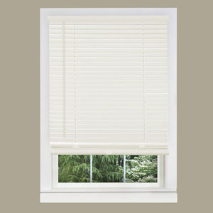 Cordless GII Morningstar Alabaster 64 x 36-Inch Mini Blind