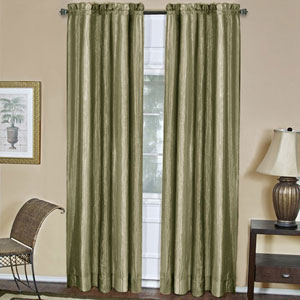 Ombre Sage 63 x 50 In. Window Curtain Panel