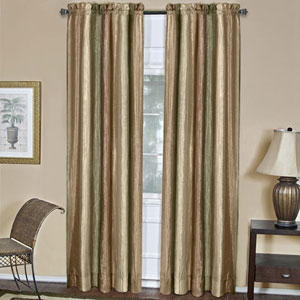 Ombre Earth 84 x 50 In. Window Curtain Panel