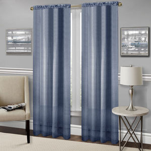 Richmond Navy 84 x 52 In. Window Curtain Panel