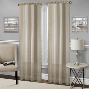 Richmond Tan 84 x 52 In. Window Curtain Panel
