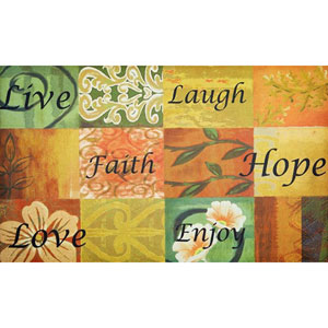 Life 18 x 30-Inch Welcome Mat