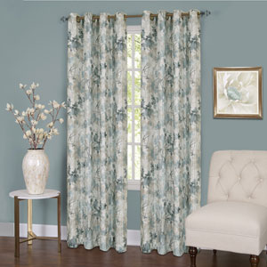 Tranquil Mist 63 x 50 In. Window Curtain Panel