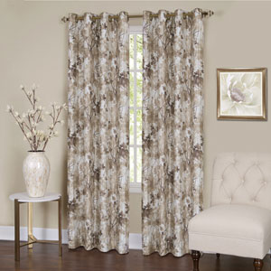 Tranquil Tan 84 x 50 In. Window Curtain Panel