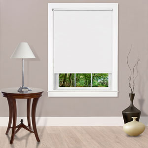 Cords Free Tear Down Room Darkening White 73 x 72  Shade