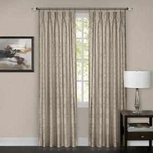 Windsor Camel Pinch Pleat 84 x 34 In. Window Curtain Panel