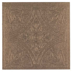 Metallo Copper 4 x 4 In. Adhesive Wall Tiles, Set of 24