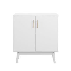 Bella White Accent Cabinet