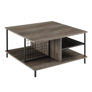 Zane Gray Square Coffee Table