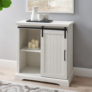 Alba Brushed White Cabinet