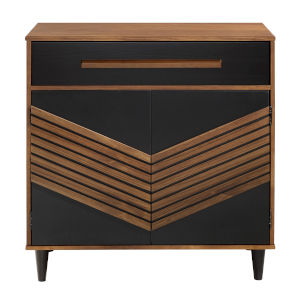 Anderson Black Brown Cabinet