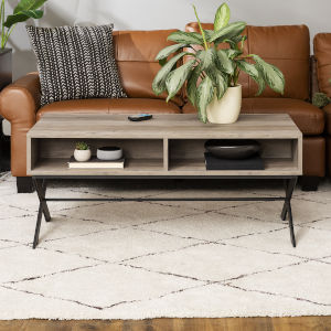 Brin Natural and Black Coffee Table