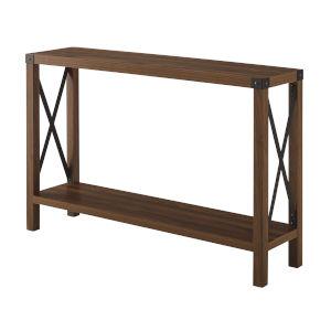Dark Walnut 46-Inch Entryway Table
