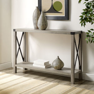 Grey Entryway Table