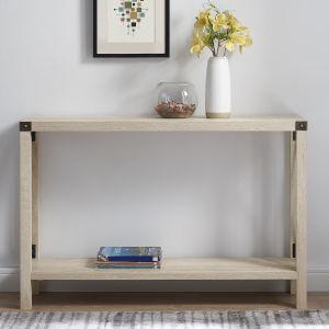 White Oak Entryway Table