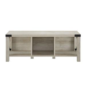 White Oak 48-Inch Entry Bench