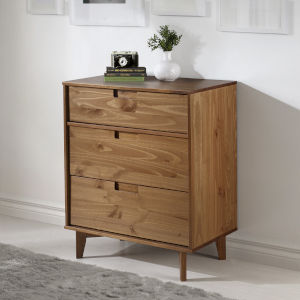 Caramel Three Drawer Dresser