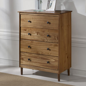 Caramel Four Drawer Dresser
