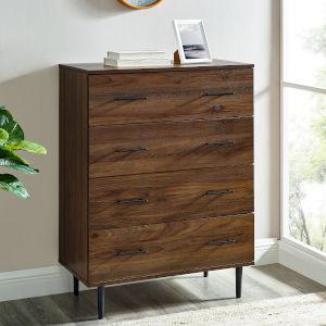 Savanna Dark Walnut Four-Drawer Dresser