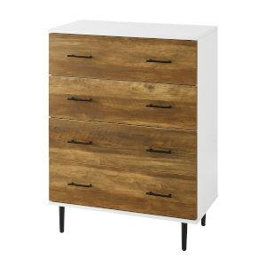Savanna Reclaimed Barnwood Four-Drawer Dresser