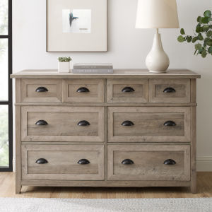 Odette Gray Wash Dresser
