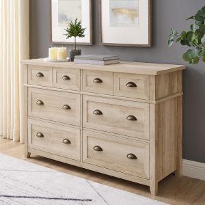 Odette White Oak Dresser