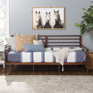 Walnut Spindle Daybed