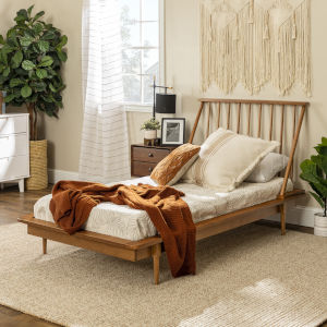 Caramel Spindle Bed