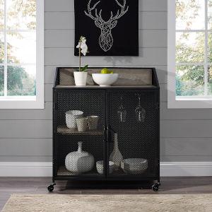 Grey Bar Cabinet