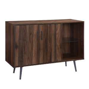 Dark Walnut TV Stand Buffet