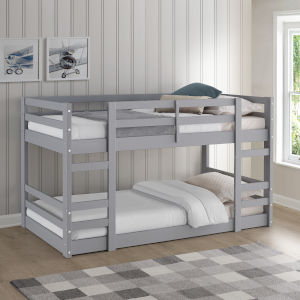 Grey Twin Bunk Bed