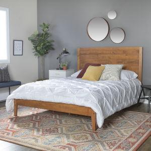 Caramel Queen Bed