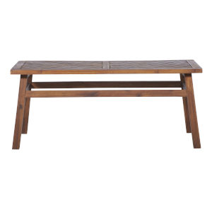 Dark Brown Patio Coffee Table