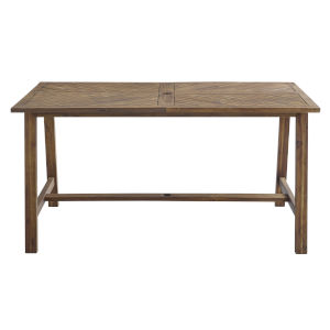 Vincent Dark Brown Outdoor Dining Table