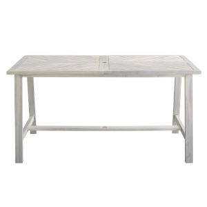 Vincent White Wash Outdoor Dining Table