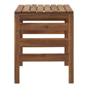 Sanibel Brown Outdoor Side Table