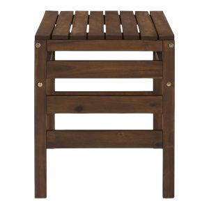 Sanibel Dark Brown Outdoor Side Table