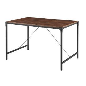 Dark Walnut 48-Inch Dining Table