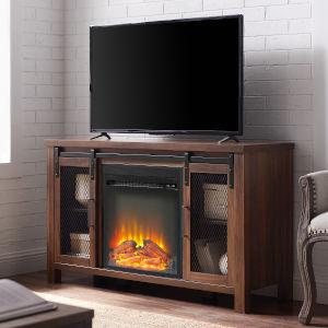 Dark Walnut TV Stand