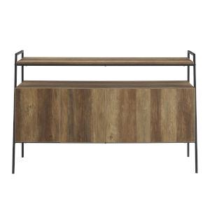 Rustic Oak 52-Inch TV Stand