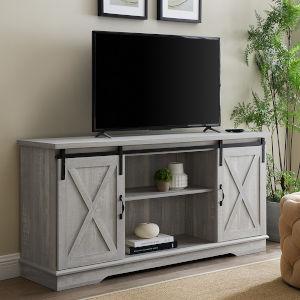 Stone Grey TV Stand