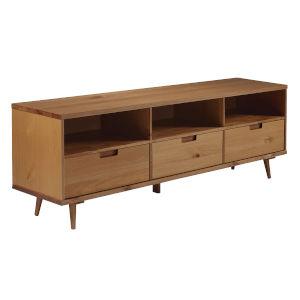 Ivy Caramel Three-Drawer TV Cabinet
