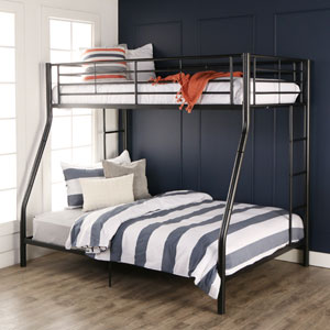 Sunset Black Twin/Double Bunk Bed