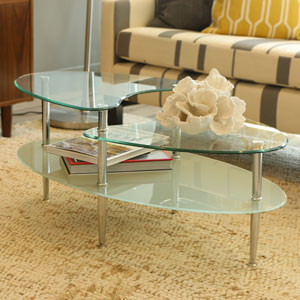 Mariner Oval Coffee Table