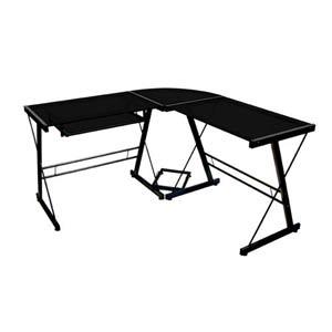 Black Three Piece Soreno Desk