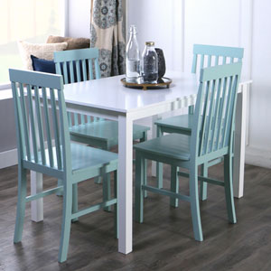 Greyson 5-Piece Dining Set - Sage