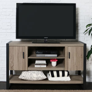 Urban Blend Grey 60-Inch TV Console Table